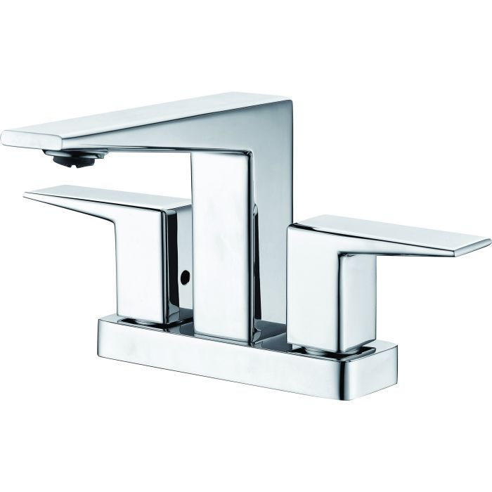 Two Handle 4 Inch Centerset Bathroom Faucet