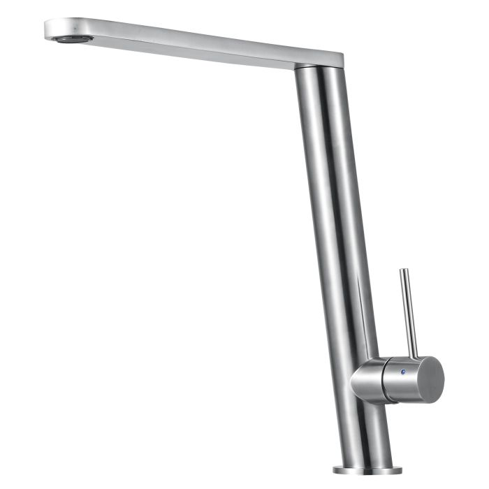 Alfi Brand Ab2046 Fancy Round Modern Solid Stainless Steel Kitchen Faucet